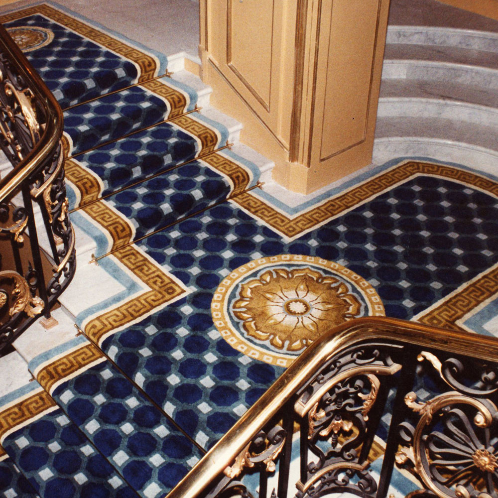 Carpet Runners for Stairs in Hotel