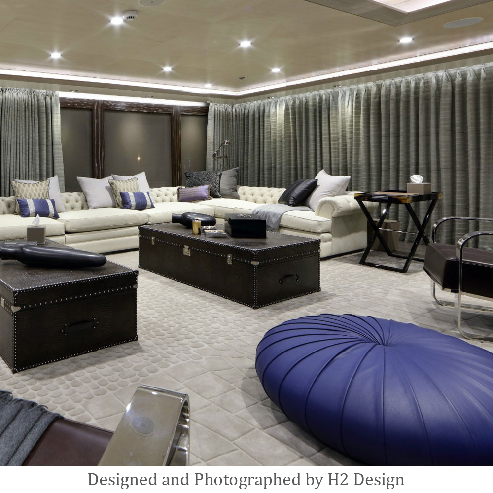 Luxury Hand Tufted Yacht Carpet